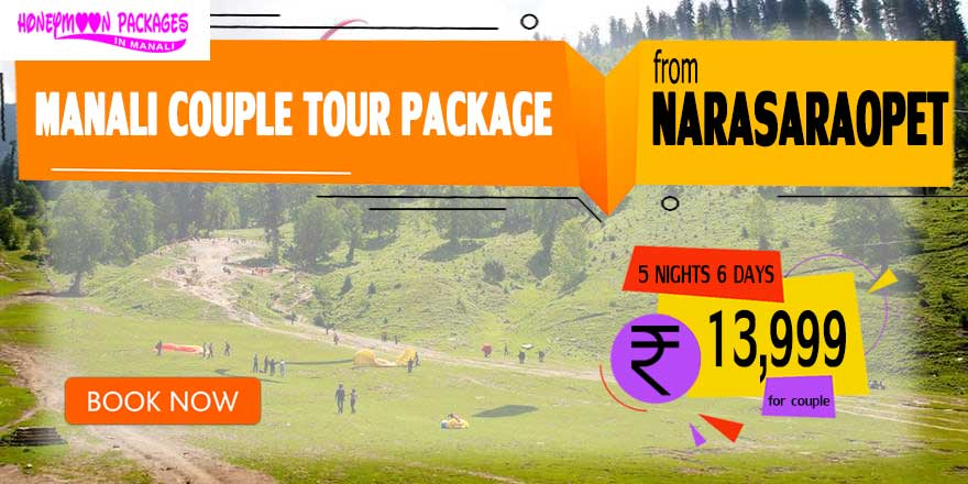 Manali couple tour package from Narasaraopet