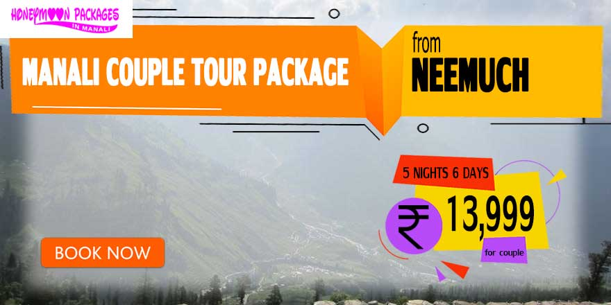 Manali couple tour package from Neemuch