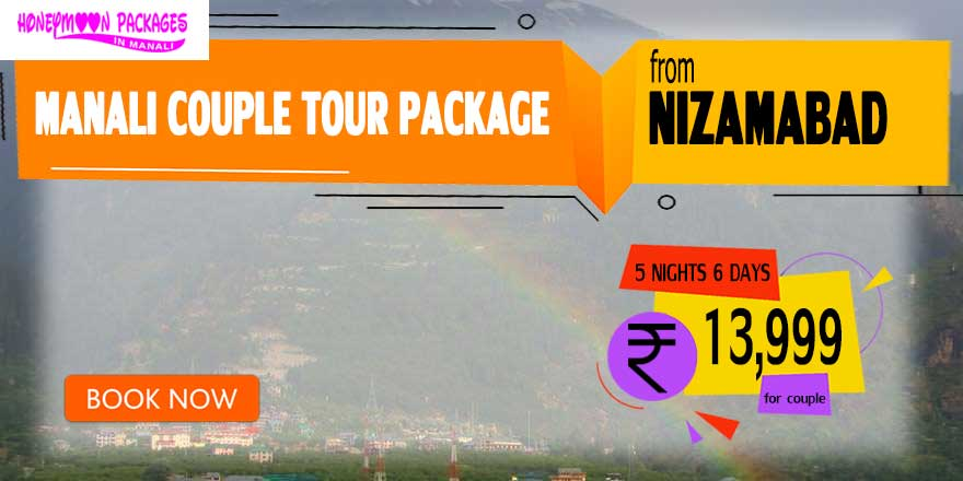 Manali couple tour package from Nizamabad