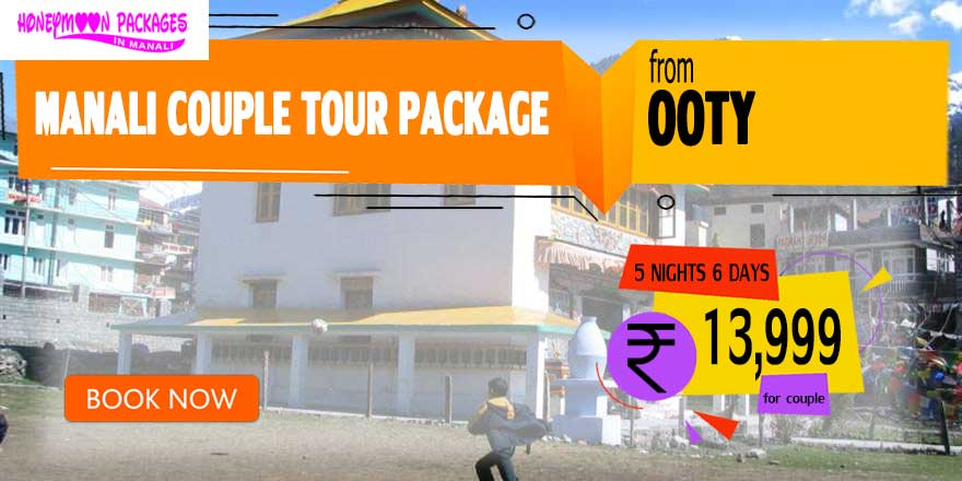 Manali couple tour package from Ooty