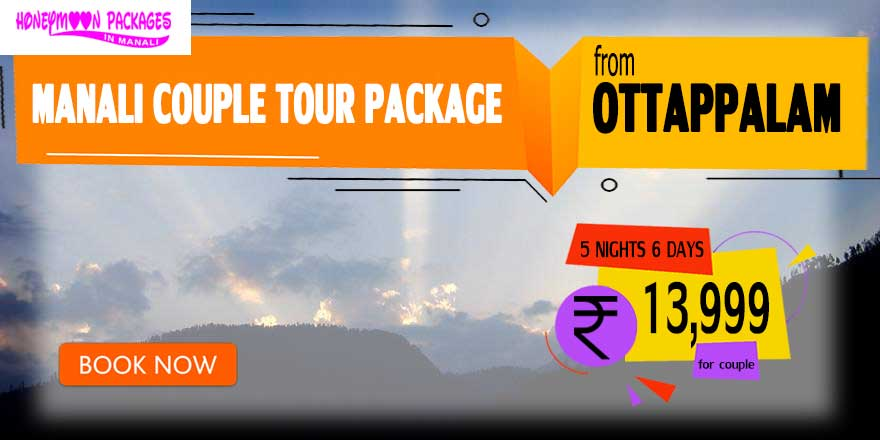 Manali couple tour package from Ottappalam