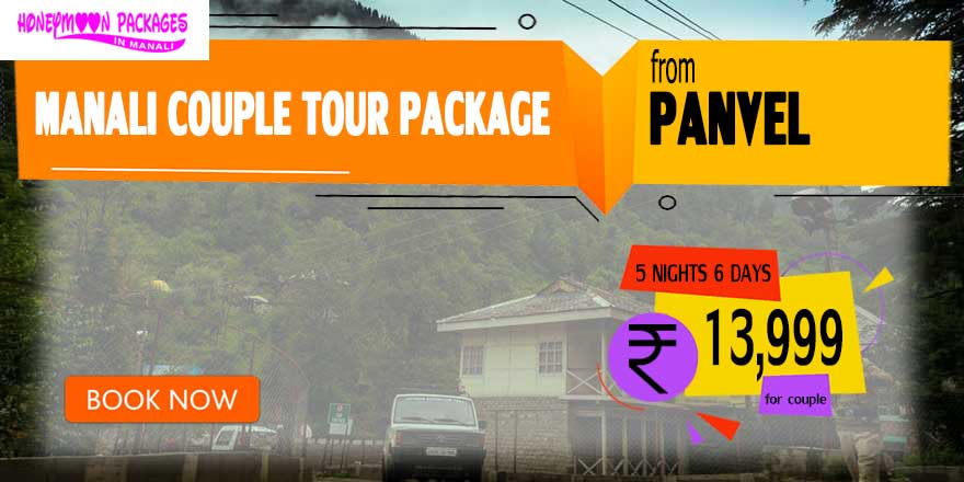 Manali couple tour package from Panvel