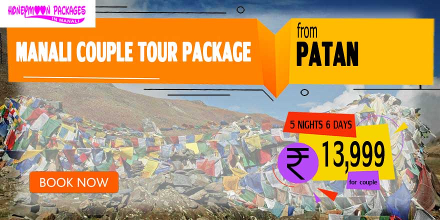 Manali couple tour package from Patan