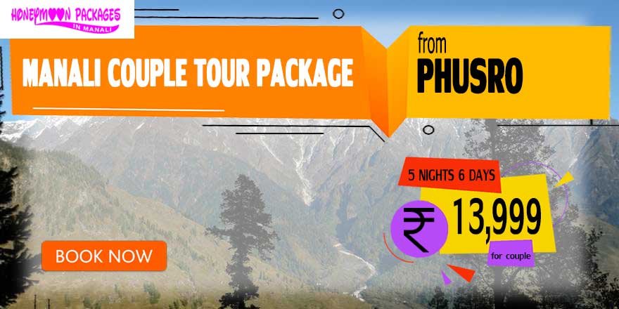 Manali couple tour package from Phusro