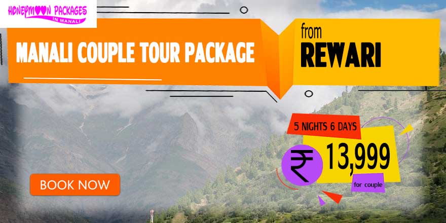 Manali couple tour package from Rewari