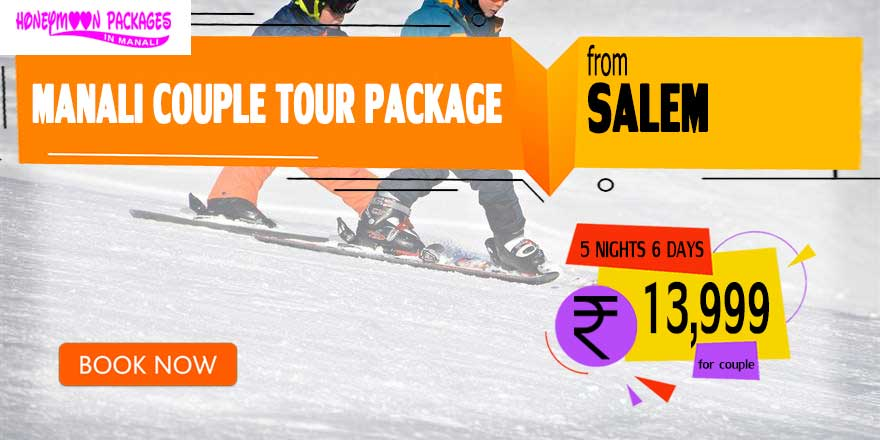 Manali couple tour package from Salem