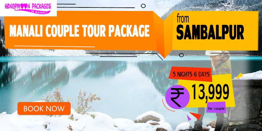 Manali couple tour package from Sambalpur