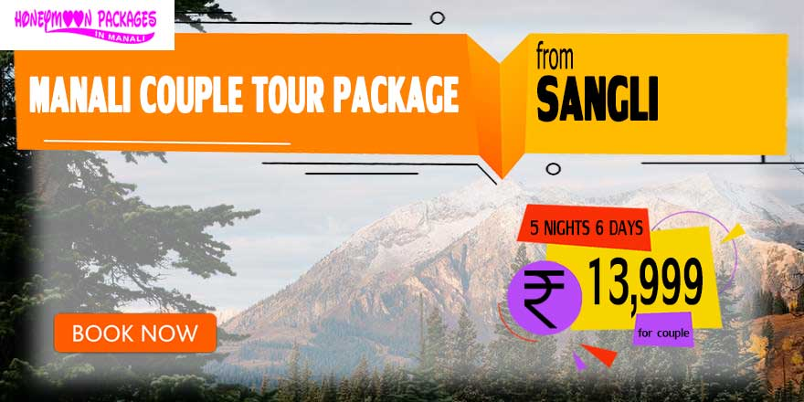 Manali couple tour package from Sangli