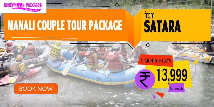 Manali couple tour package from Satara