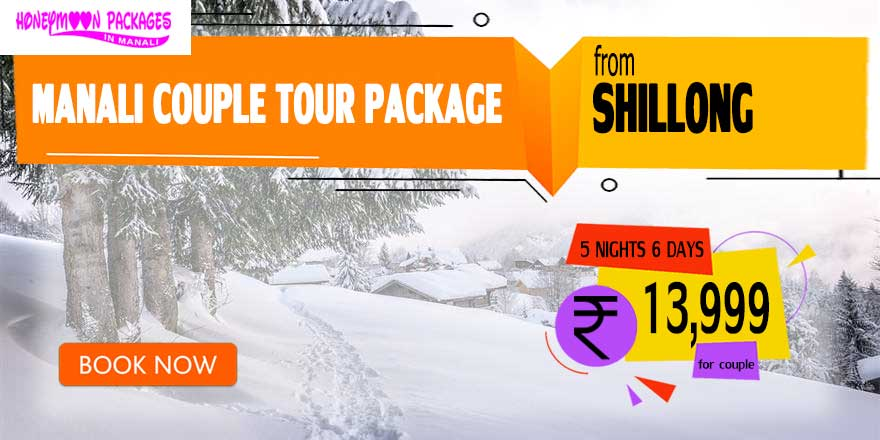 Manali couple tour package from Shillong