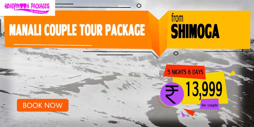 Manali couple tour package from Shimoga