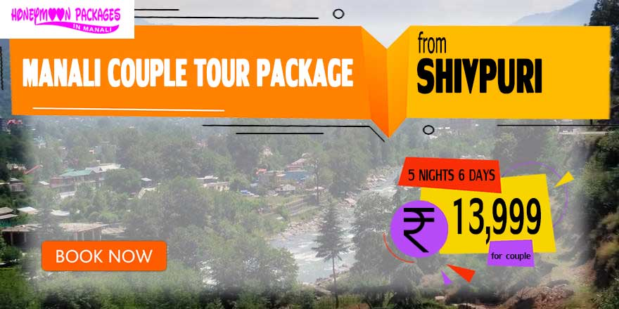 Manali couple tour package from Shivpuri