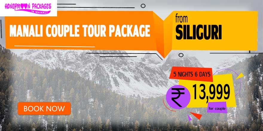 Manali couple tour package from Siliguri