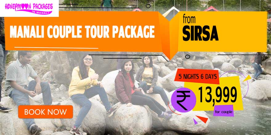 Manali Honeymoon Package for Couple