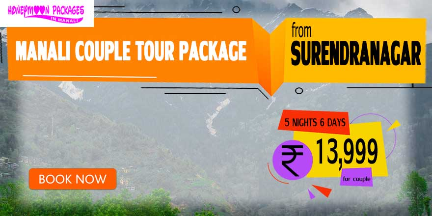 Manali couple tour package from Surendranagar