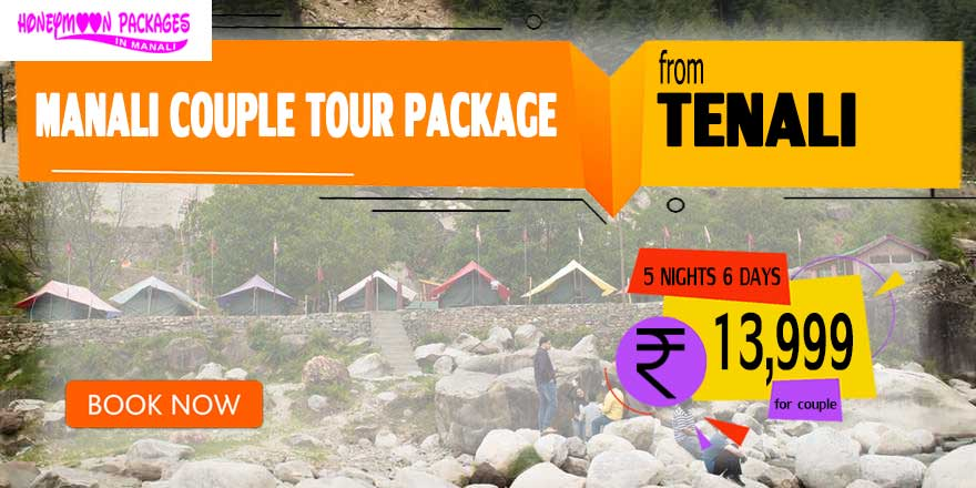 Manali couple tour package from Tenali