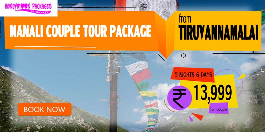 Manali couple tour package from Tiruvannamalai