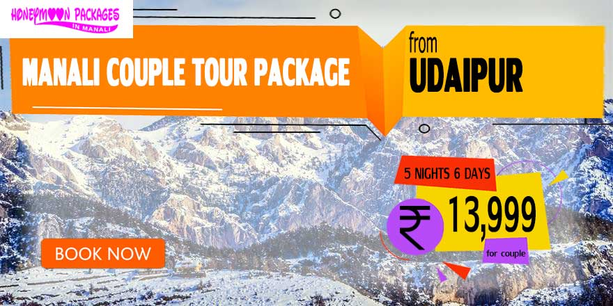 Manali couple tour package from Udaipur