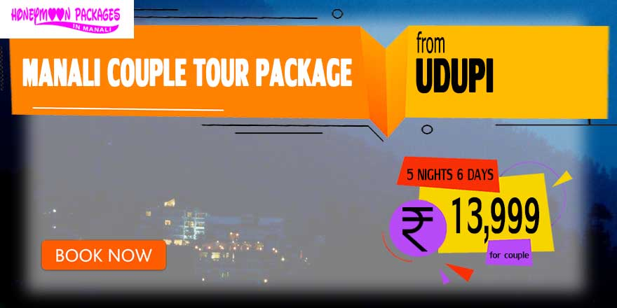 Manali couple tour package from Udupi