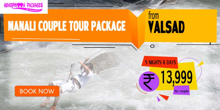 Manali couple tour package from Valsad