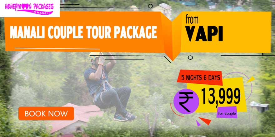 Manali couple tour package from Vapi