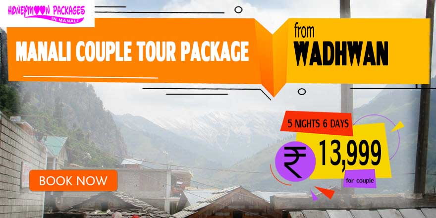Manali couple tour package from Wadhwan