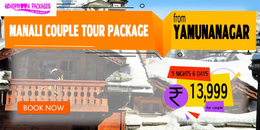 Manali couple tour package from Yamunanagar