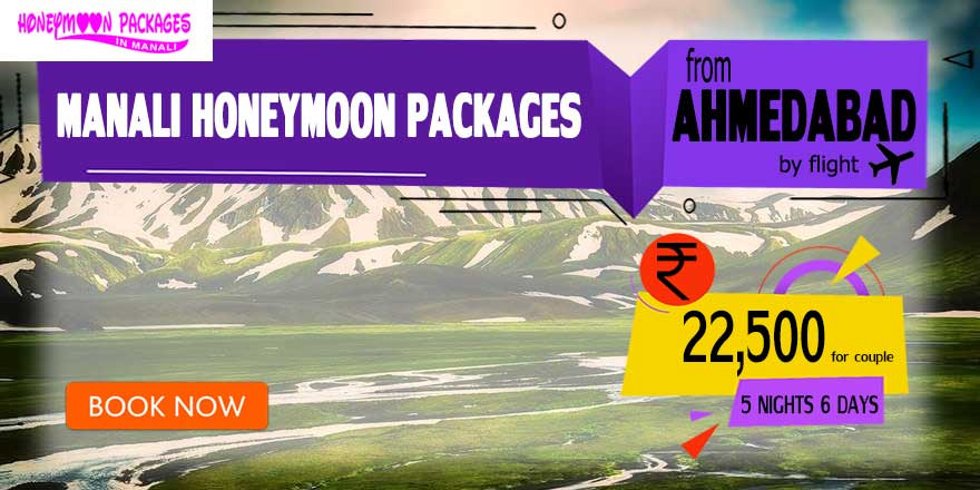 Honeymoon Packages in Manali from Ahmedabad