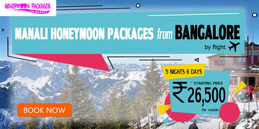 Honeymoon Packages in Manali from Bangalore