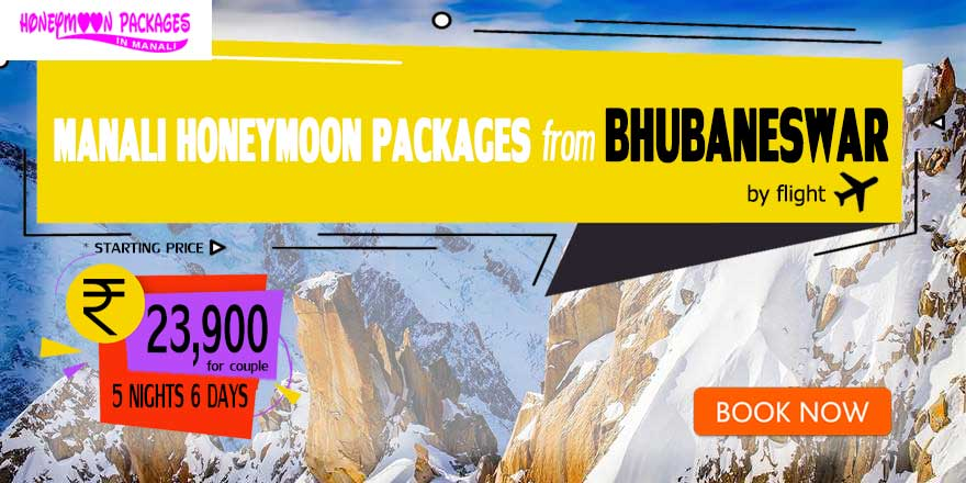 Honeymoon Packages in Manali from Bhubaneswar