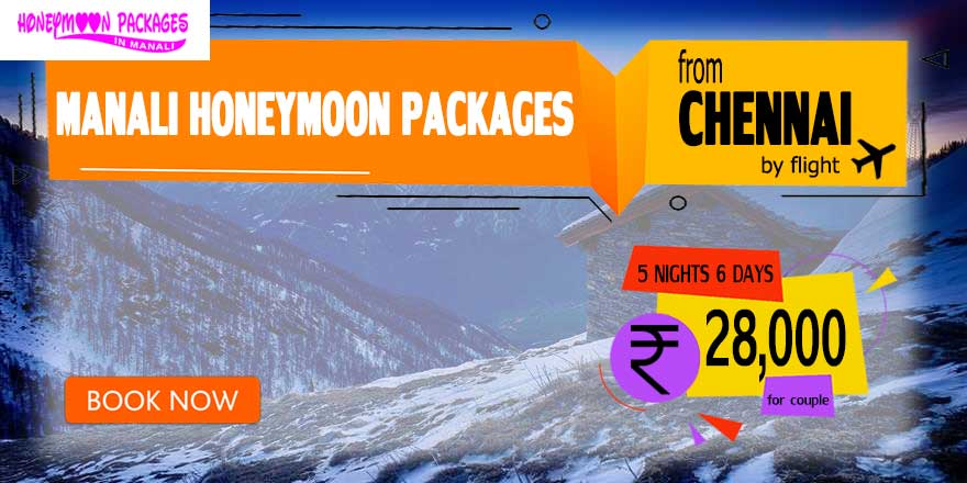 Honeymoon Packages in Manali from Chennai