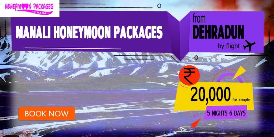 Honeymoon Packages in Manali from Dehradun