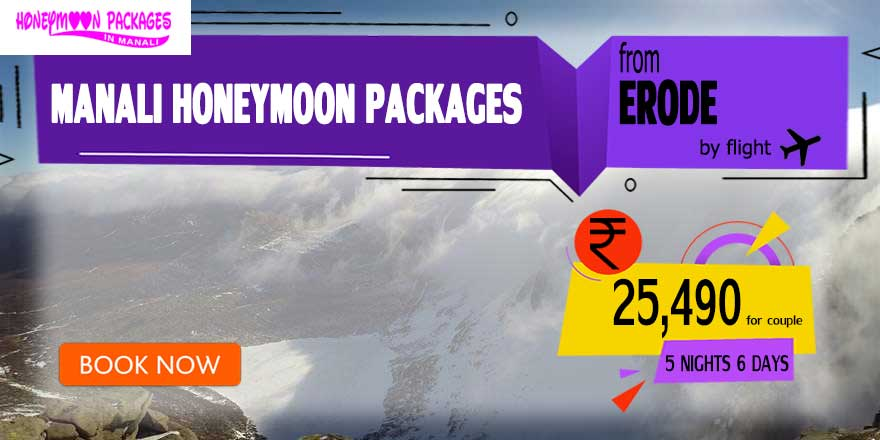 Honeymoon Packages in Manali from Erode