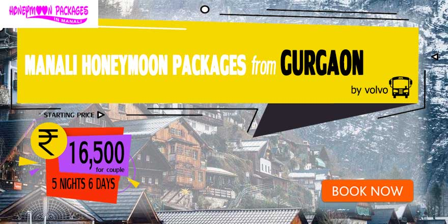 Honeymoon Packages in Manali from Gurgaon