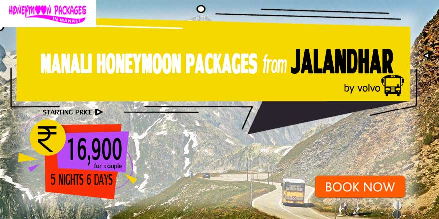 Honeymoon Packages in Manali from Jalandhar