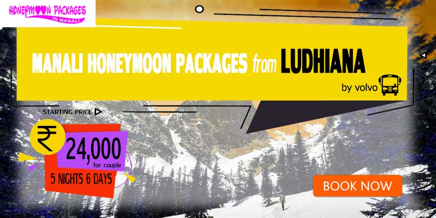 Honeymoon Packages in Manali from Ludhiana