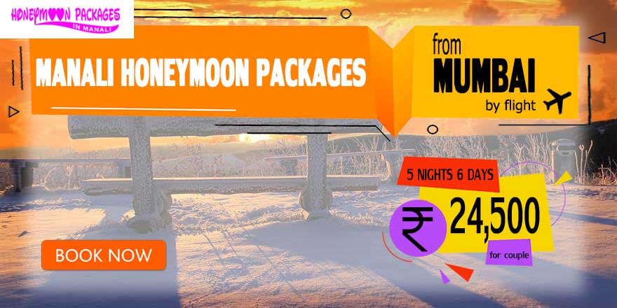 Honeymoon Packages in Manali from Mumbai