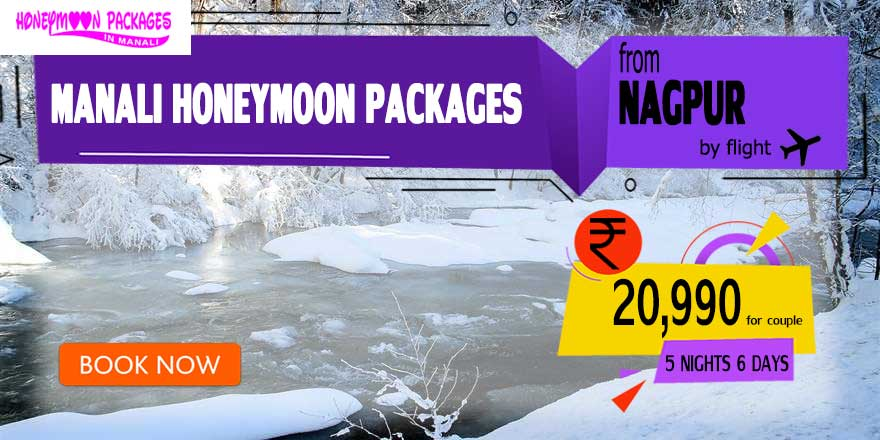 Honeymoon Packages in Manali from Nagpur
