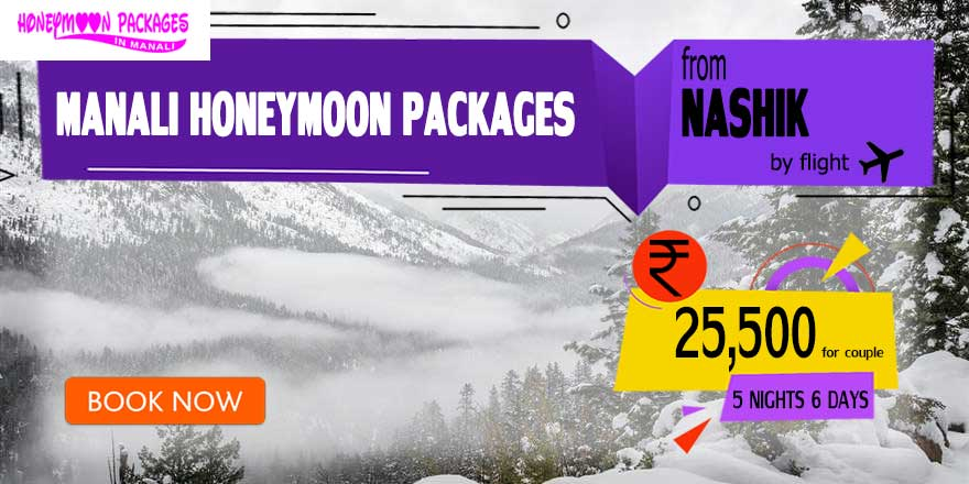 Honeymoon Packages in Manali from Nashik