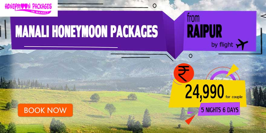 Honeymoon Packages in Manali from Raipur