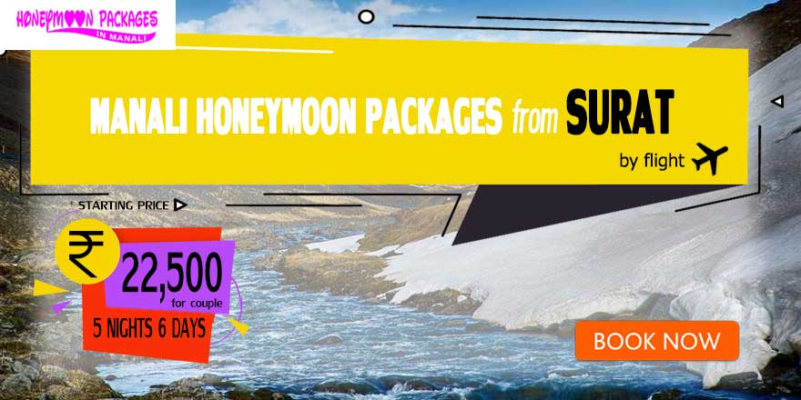 Honeymoon Packages in Manali from Surat