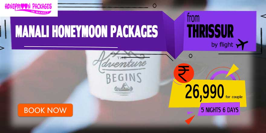 Honeymoon Packages in Manali from Thrissur