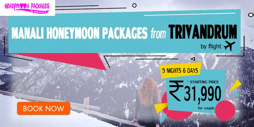 Honeymoon Packages in Manali from Trivandrum