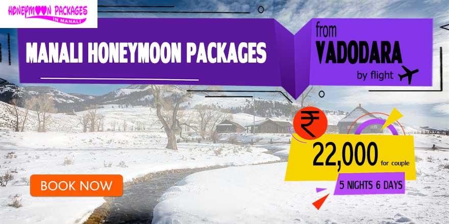 Honeymoon Packages in Manali from Vadodara