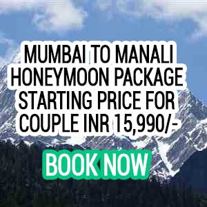 Mumbai to Manali honeymoon package