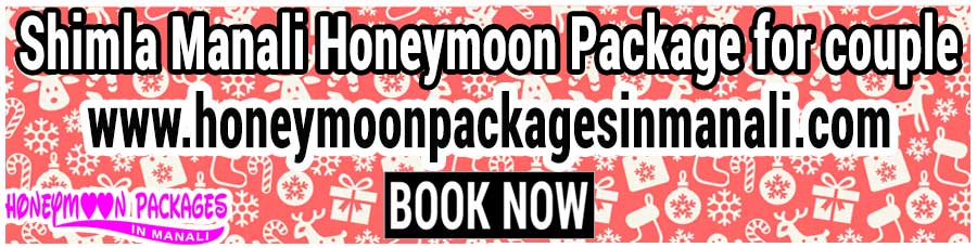 Shimla Manali Honeymoon Package for couple
