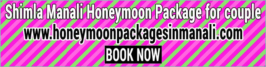Book Shimla Manali Honeymoon Package for couple